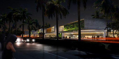 DOMO Architecture + Design Artefacto Showroom Coral Gables