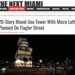 DOMO Design 20-Story Mixed-Use Tower With Micro Lofts Planned On Flagler Street