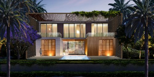 DOMO Architecture Design Dubai Creek Villa UAE